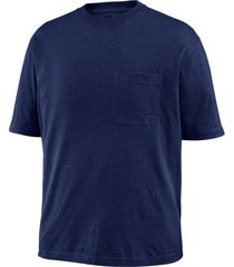 wolverine men's knox short sleeve tee (big & tall) navy, size lt