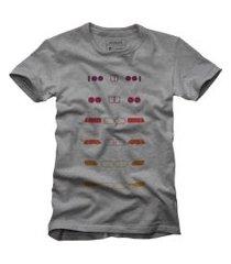 camiseta bmw reserva cinza