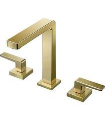 misturador para banheiro mesa stillo ouro polido - docol - docol