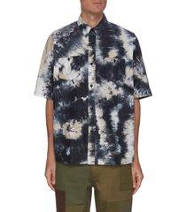 tie dye oversize short sleeve shirt