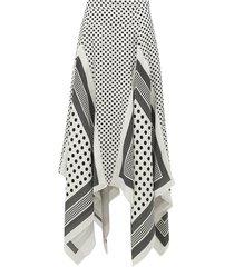 boom asymmetric skirt