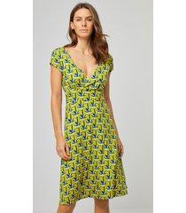 surkana jurk mouwloos palm
