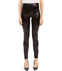 skinny vegan leather leggings