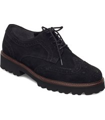 slip-ons snörade skor låga svart gabor