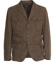 dsquared cotton phil jacket