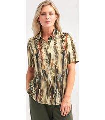 blouse mona olijf::riet
