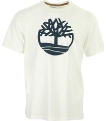 t-shirt korte mouw timberland kennebec river tree logo tee