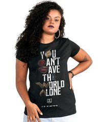 camiseta liga da justiça dc comics you can't save color bandup! feminina