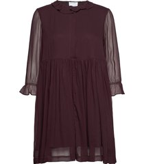 mindy shirt dress kort klänning röd designers, remix