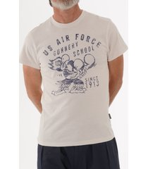 schott nyc us air force t-shirt - white tsfight