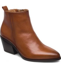 ankle boot shoes boots ankle boots ankle boot - heel brun gabor