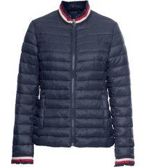 giacca trapuntata con bordi a righe (blu) - bodyflirt