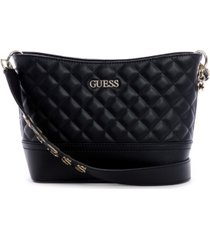 guess illy quilted bucket bag