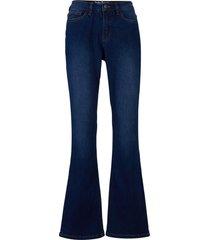 jeans elasticizzati in cotone biologico bootcut (blu) - john baner jeanswear