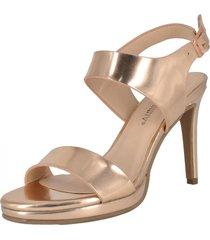 sandalia de fiesta amaltea dorado alquimia