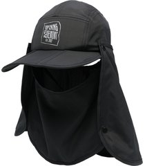 opening ceremony detachable face panel cap - black