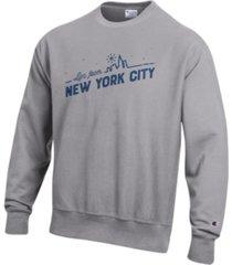 macy's reverse weave crewneck sweatshirt, created for macy's