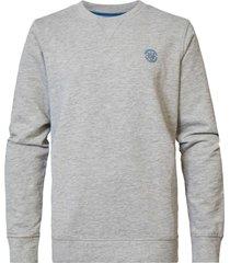 petrol industries swr305 sweater crew neck 9038 light grey -