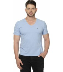 camiseta alfaiataria burguesia metalist azul - azul - masculino - algodã£o - dafiti