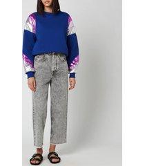 isabel marant women's menji sweatshirt - electric blue - l