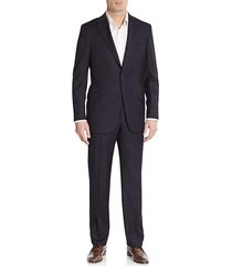 regular-fit tonal striped wool suit