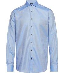 bs barlow skjorta business blå bruun & stengade