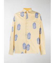 jacquemus can-print reversible shirt