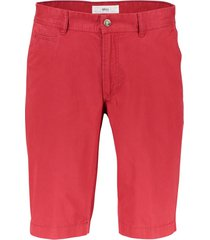 brax shorts rood chino regular fit