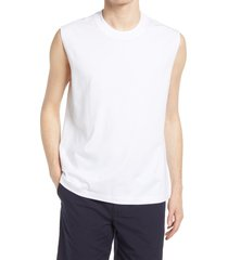 club monaco muscle tank, size small in white at nordstrom
