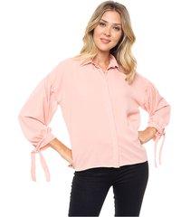 camisa coral donadonna