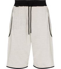 byborre drop crotch drawstring shorts - grey