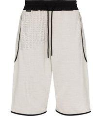 byborre drop crotch drawstring shorts - grey