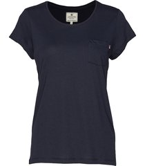 ashley jersey tee t-shirts & tops short-sleeved blå lexington clothing