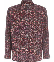 our legacy floral wallpaper print shirt
