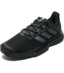 tenis lifestyle negro adidas performance solematch bounce m