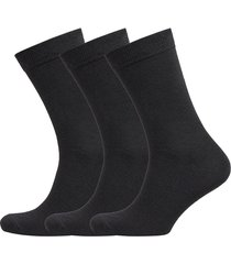 3 pack regular wool sock – men underwear socks regular socks svart boozt merchandise