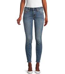 true religion women's jennie big t skinny ankle jeans - medium - size 27 (4)