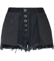 ben taverniti™ unravel project denim shorts