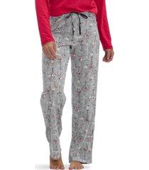 hue holiday pour modern classic pajama pants