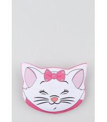 bolsa de gatinha marie com brilho rosa