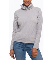 bam by betsy & adam long-sleeve top & attached face mask, created for macy's