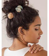 soho style mother of imitation pearl seashell hair claw