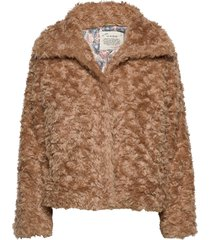 amandine jacket outerwear faux fur beige odd molly
