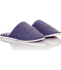 slippers comfy stripes thm unisex azul oscuro