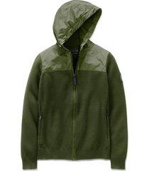women's canada goose windbridge hooded sweater jacket