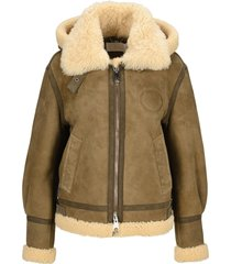 chloé chloe aviator jacket