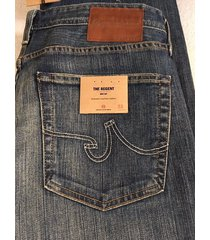 nwtg adriano goldschmied ag the regent relaxed fit  men's jeans sz 33x34