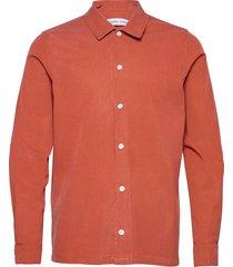 taka jx shirt 11531 overhemd casual oranje samsøe samsøe