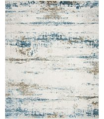 safavieh eclipse beige and blue 8' x 10' sisal weave area rug