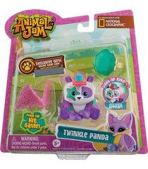 animal jam panda contilante - fun divirta-se - incolor/multicolorido - menina - dafiti